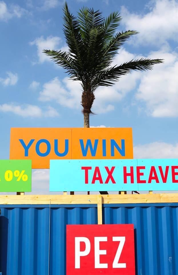 002- Thierry Verbeke - Paradize Economic Zonne -panneaux
