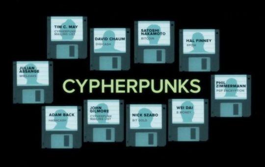 cf. https://en.bitcoinwiki.org/wiki/Cypherpunk